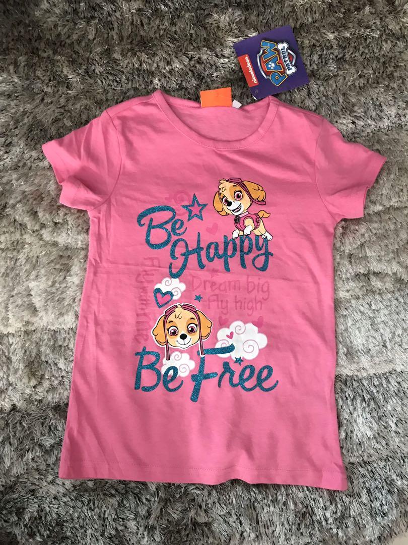 99bcceb703a2d FREE MAIL! New Paw Patrol Sky T-Shirt (110), Babies & Kids, Girls ...