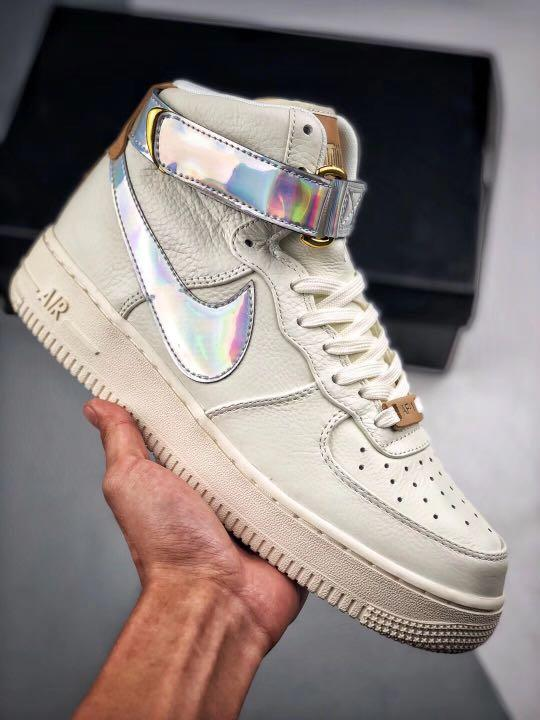 "good texture crazy price outlet online Full size ) Nike Air Force 1 High ""Nai Ke"" The BUND Jester Sneaker ..."