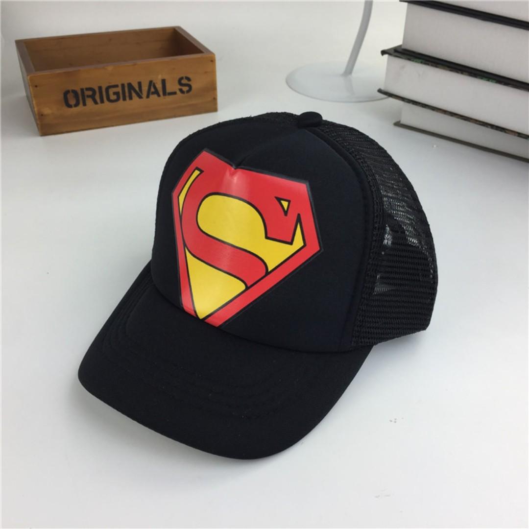 a38aaea6398 KIDS Superman Baseball Cap