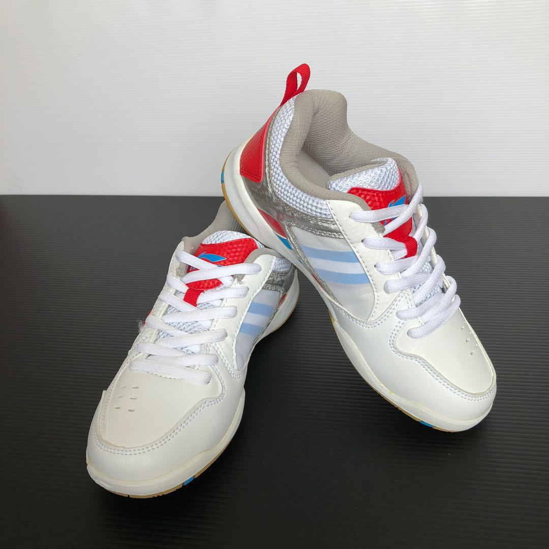 c77b1d2ea3ec71 LI-NING badminton shoes (white red)