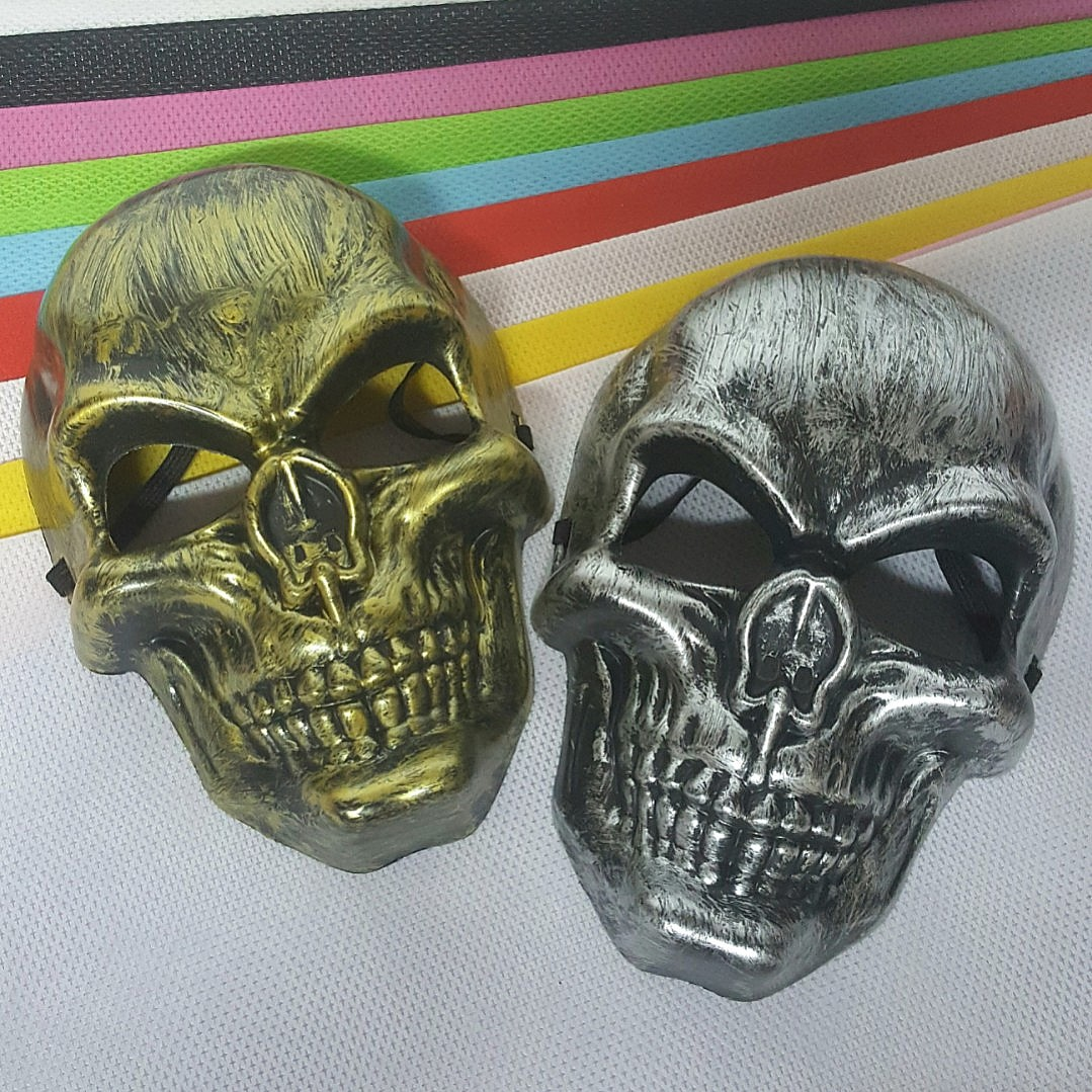 b74d5f79883ed Masquerade Mask - Full Face ↪ Rusty Horror Skull 💀💀 💱 $8.00 Each Piece/  3 Pieces for $20.00
