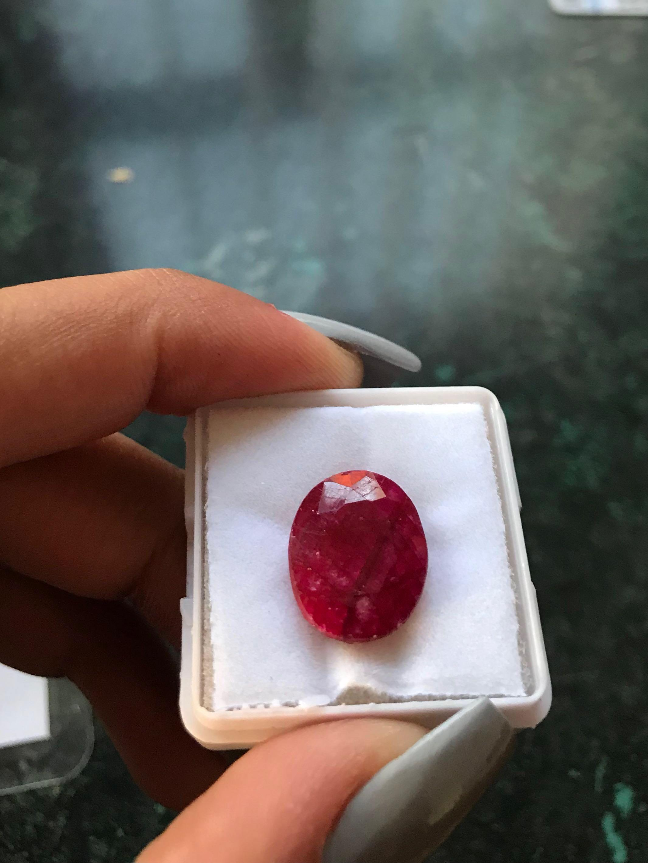 NATURAL RED RUBY BRAND NEW