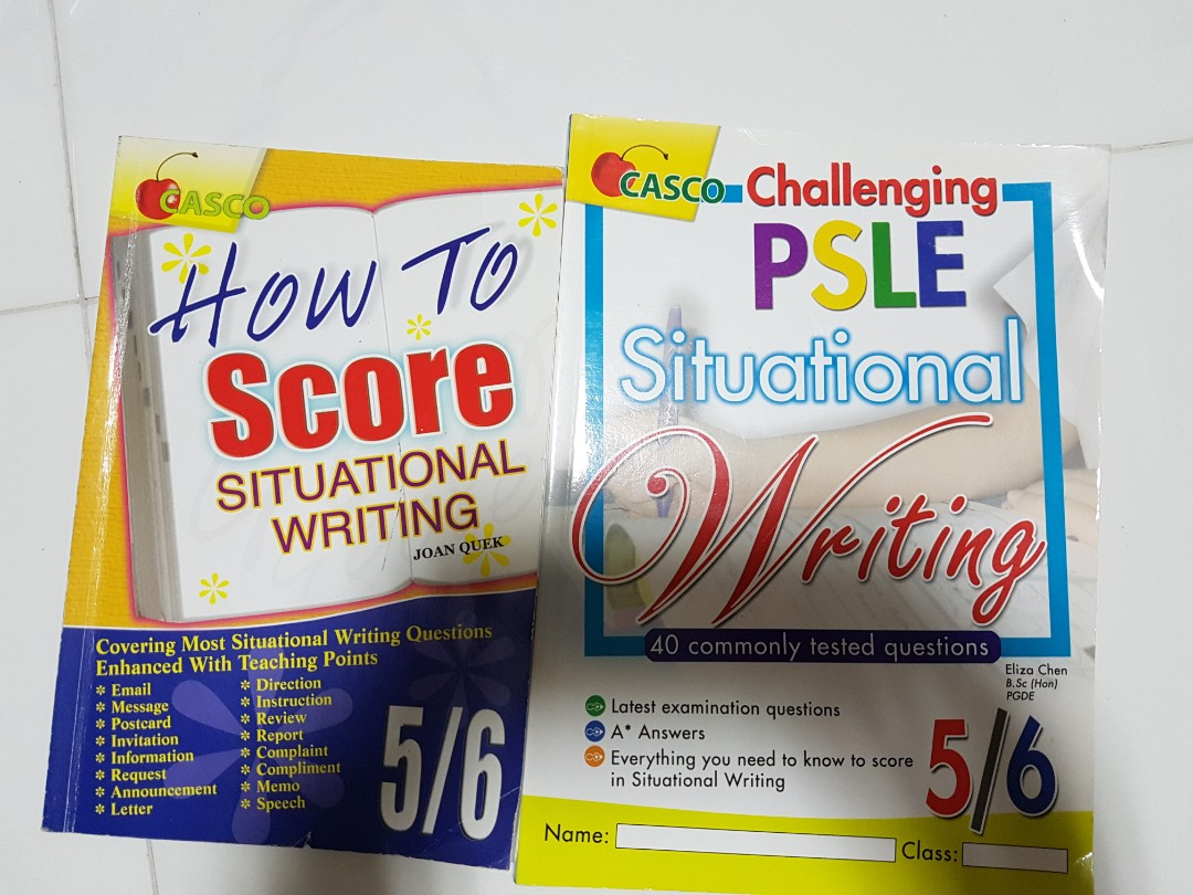 situational writing questions