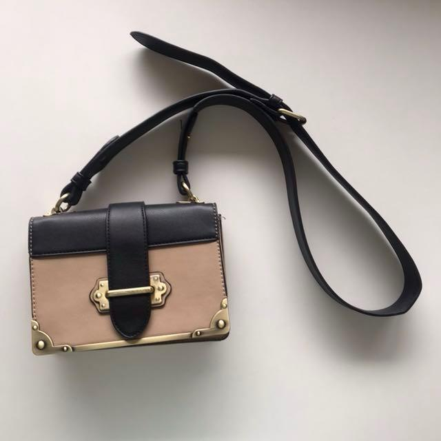 Prada Cahier Look-a-like bag