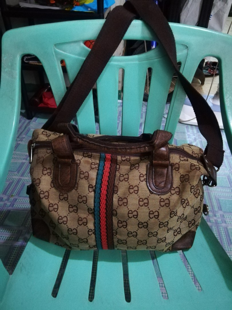 fa77e196fb Preloved bag 2 way with sling inspired gucci