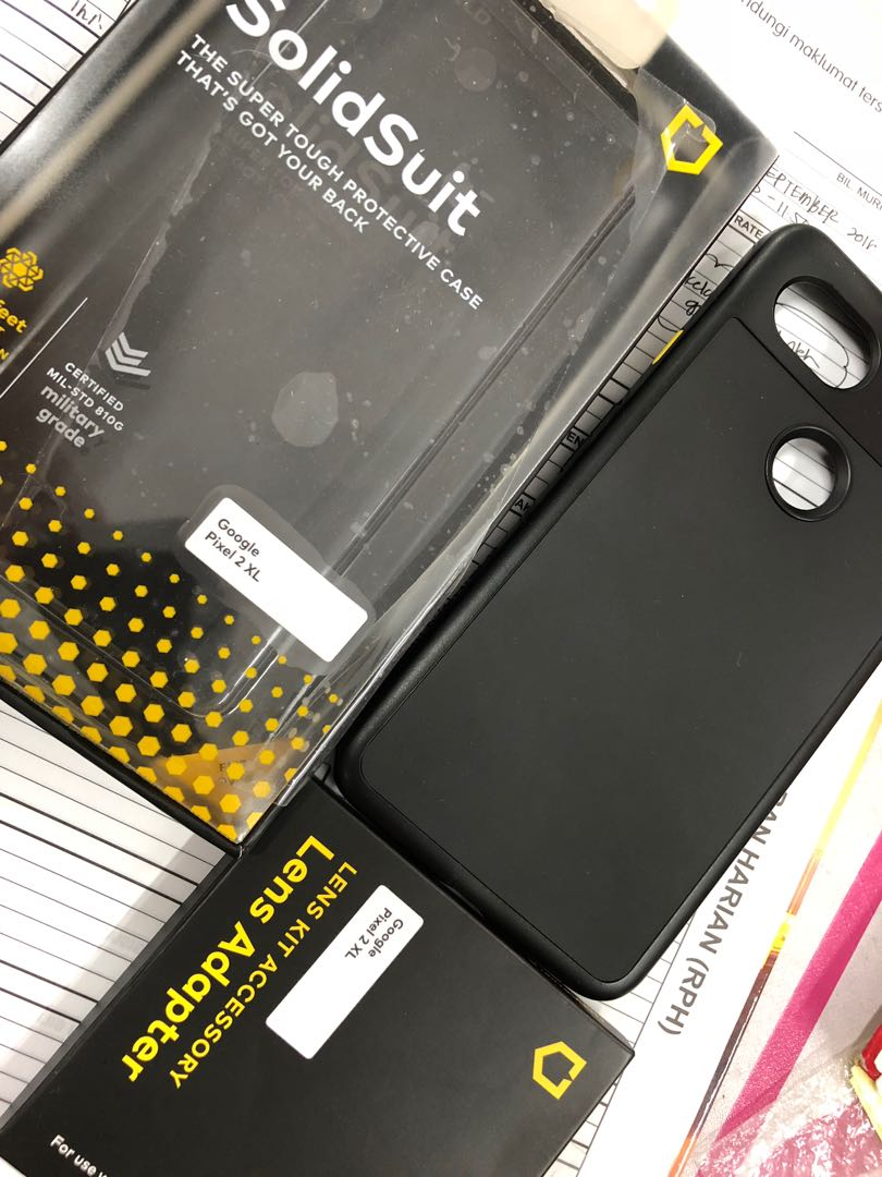 huge selection of 607d5 156a2 Rhinoshield solidsuit pixel 2 xl case