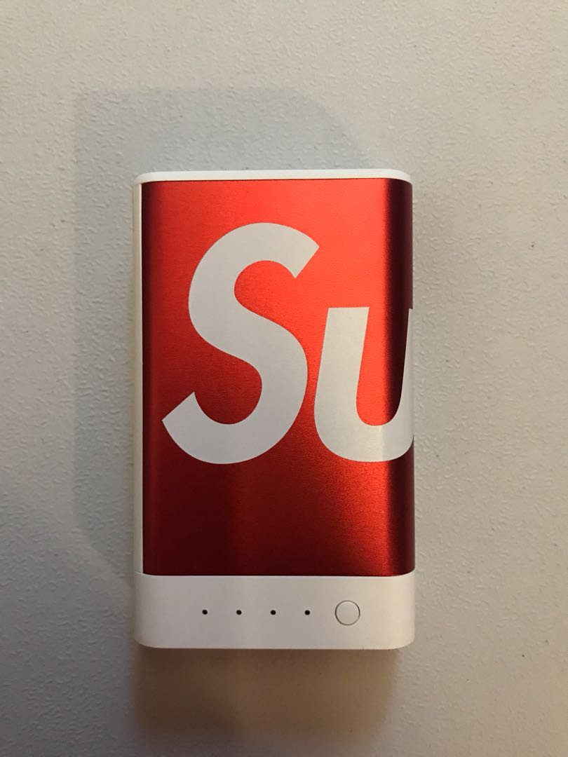 new product a333c d0db0 Supreme mophie 10k red