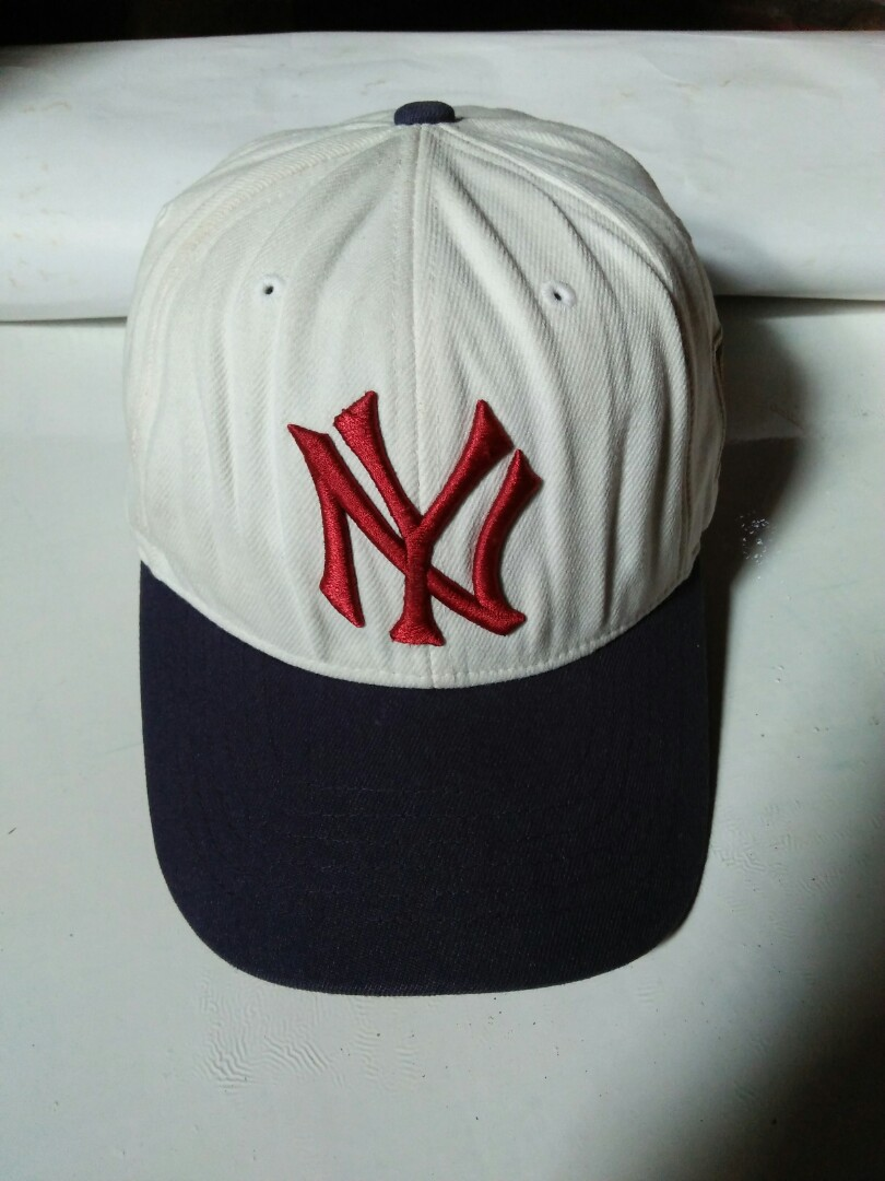 Topi Baseball MLB New York Yankees Original Flexfit U.S Patent Edisi  Cooperstown Collection Limited edition rare size  M-XL Kondisi 95% mulus 85e928bf7a