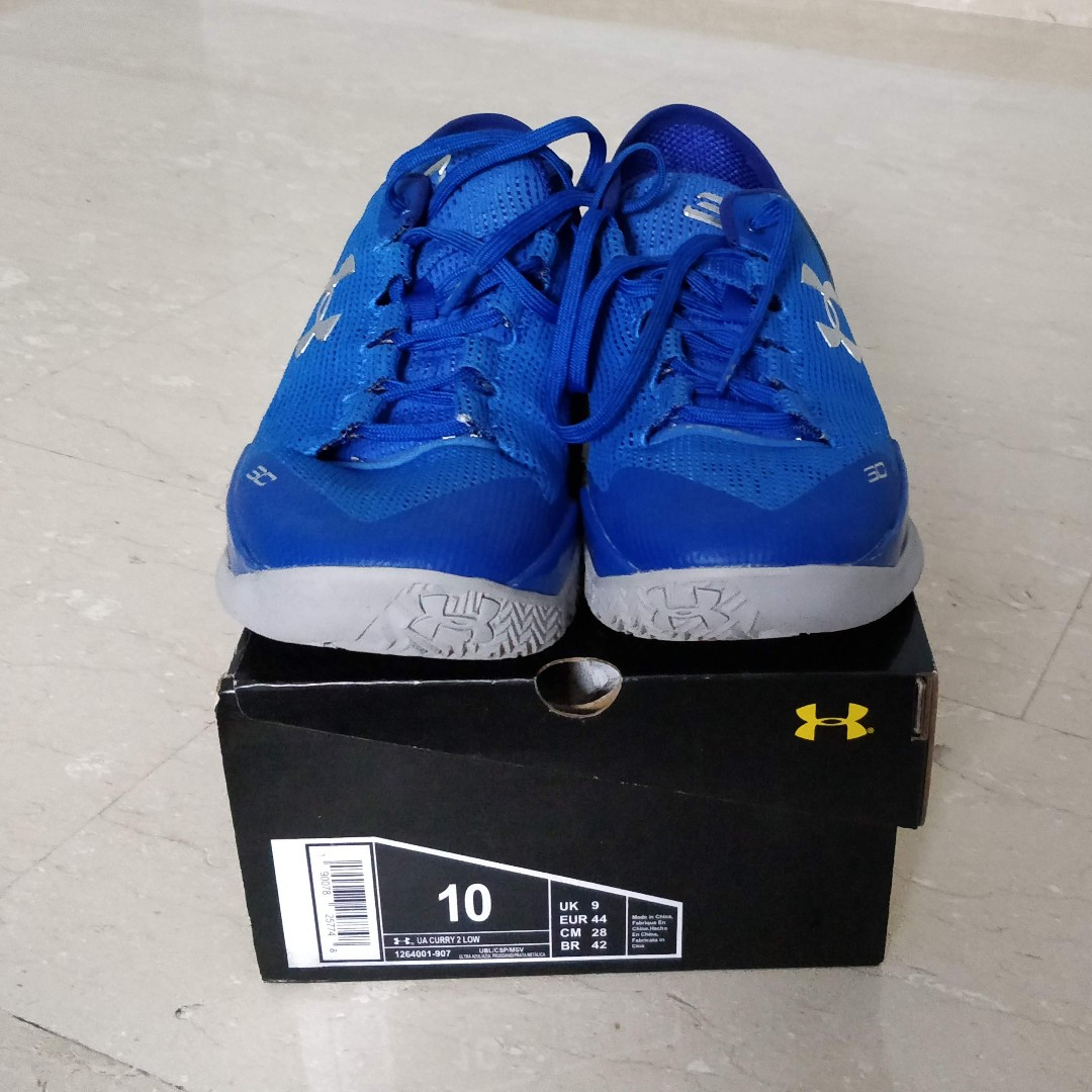 best loved 5f120 cd126 UA Curry 2 Low - Size US10