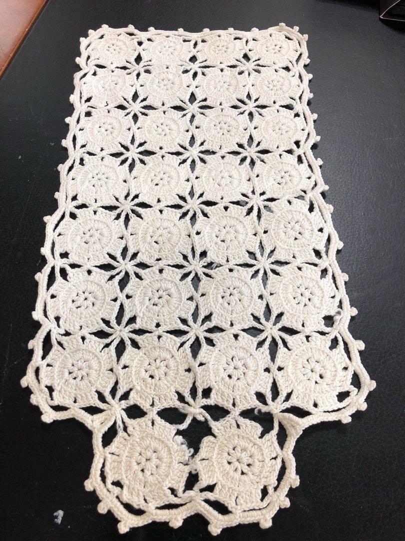 Vintage Crochet Table Mat Everything Else On Carousell