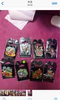 Disneyland pin襟章月toy story 反斗奇兵