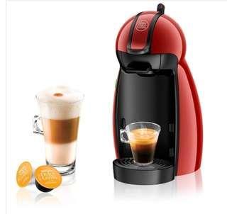 Nescafe Dolce Gusto Piccolo (Red) coffee maker