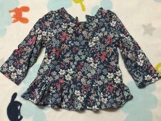 Baby GAP top preloved