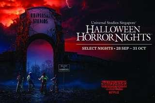 Halloween Horror Nights 8 Tickets for 29/9/2018