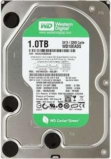 Western Digital 1TB 3.5 SATA Hard Disk