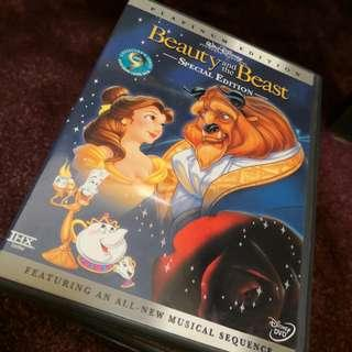 Beauty and the Beast special edition region 1 DVD