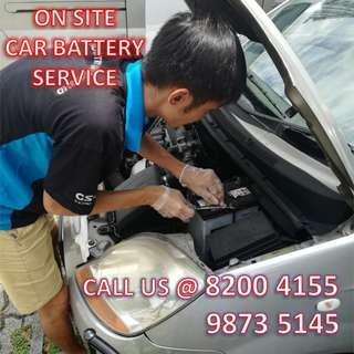 24 HRS MOBILE ON-SITE CAR BATTERY REPLACEMENT SERVICE 8200 4155