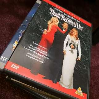 Death Becomes Her Region 2 DVD