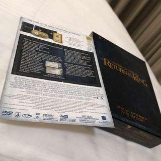 The Lord Of The Rings box set extended edition
