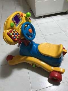 BB 2way 學行車/ 搖搖車