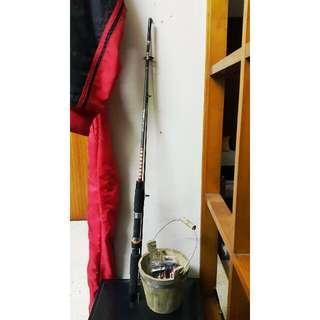Pre-loved Ofmer Spin Stik Fishing Rod