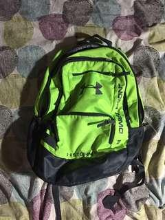 Under armour backpack - lime