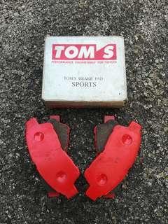 TOM'S SPORTS Brek Pad GX90, LX90, SX90