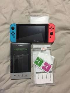 BNIB Nintendo Switch UGREEN Tempered Glasses 2Pcs