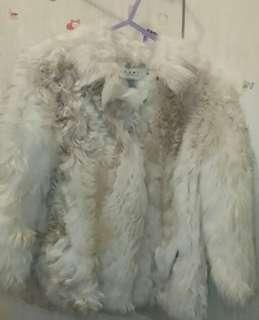 🙋名牌外套MARNI  Lamb Shearling Real Fur意大利制做 褸內裹是羊皮革💜原價超過5萬以上 💓💓💓現特價$4,999元100%New& 100%Real  ✔🈹快者得