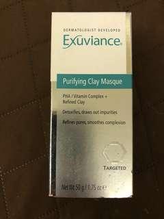 全新 醫學品牌 Exuviance Purifying Clay Masque 深層潔淨更生面膜,貨裝size 50g(如圖), 每件現售$180。「請勿議價」。 到期日: 31/01/2019 茘枝角交收(其他地點,日期時間互就)