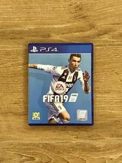PS4 FIFA19 2019 (99% new with code) fifa 19 ps4 開咗 code未用
