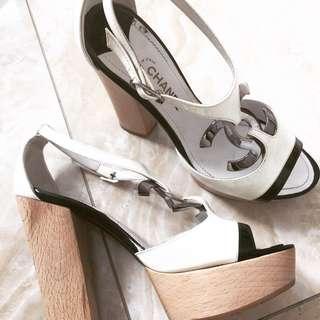 Vintage Chanel Block Heels