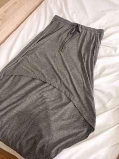 Grey High Low Skirt (Sz M-L)