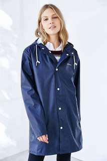 Tretorn Wings Rain Jacket (Navy, XS, never worn)