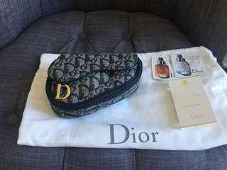 Authentic Dior Saddle Bag pouch