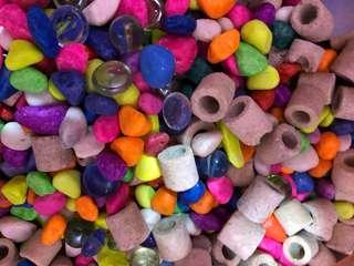 Aquarium Colour Stones for Fish Tank