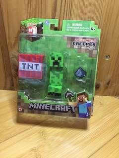 MINECRAFT Overworld Creeper Toy