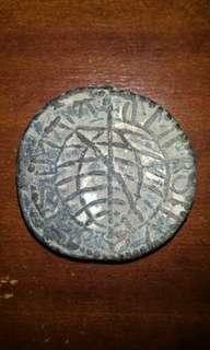 Super Rare... Portuguese Malacca old coins ofKing Emmanuel(1495-1521) andJohn III (1521-1557). Period were discovered during an excavation near the Malacca Rivermouth by W. Edgerton, Resident Councilor of Malacca in 1900.
