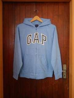 GAP Kids Blue ZipHoodie sz xxl fit M