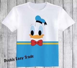 Disneyland 唐老鴨 系列雙棉印刷純棉丅恤