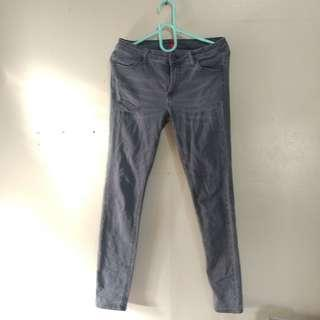Uniqlo Skinny tattered Jeans