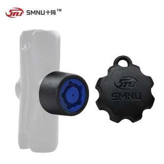 SMNU motorcycle phone holder security lock