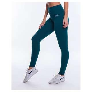 Echt Force Dry Leggings Teal