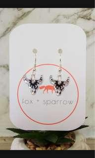 ARIZONA acrylic dangle earrings