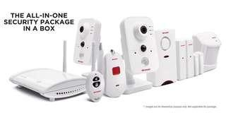 NEW Sharp Cloud Smart Home Security System with CCTV