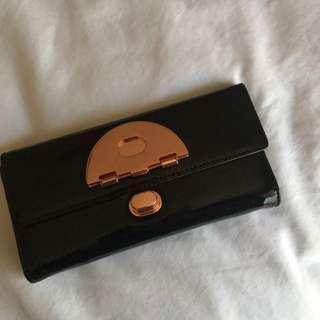 MIMCO BLACK SIGNATURE WALLET RRP $200