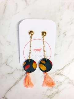 Clay drop earrings