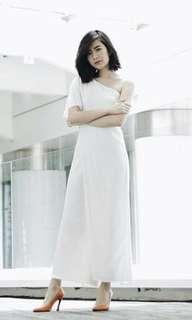 Sabrina jumpsuit white