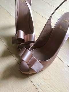 Joyce Nude pink high heel 女神鞋