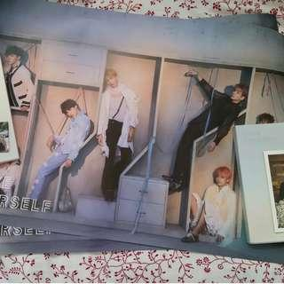 WTS E version BTS Answer poster